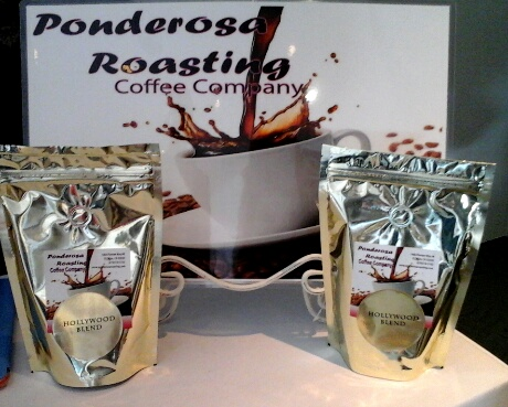 Ponderosa roasting coffee