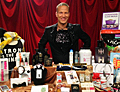 Distinctive Assets' founder Lash Fary with the  Everyone Wins At the Oscars gift bag.