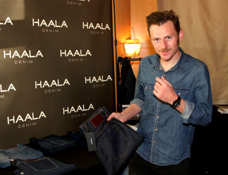 Keir O'Donnell at Haala Denim