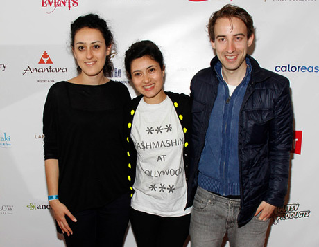 Stefan Eichenberger,Talkhon Hamzavi and Nissa Kashani Parvaneh Nominee