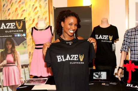 Shanola Hampton at Blaze Clothiers