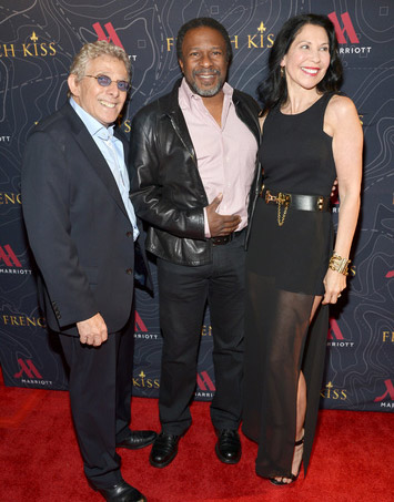 (L-R) Executive Producer Ian Sander, director Thomas Carter and Executive Producer Kim Moses