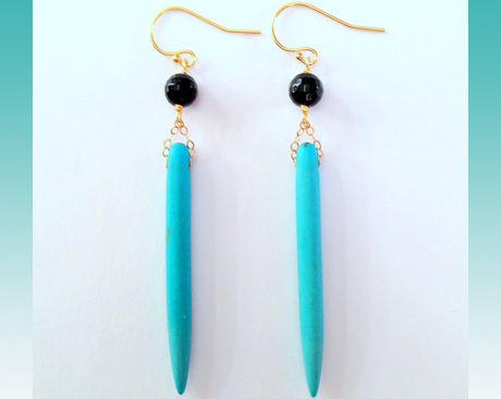 Margot Earrings by Boy Cherie.