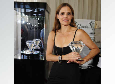 Suzanne Cryer with Venetia Vodka