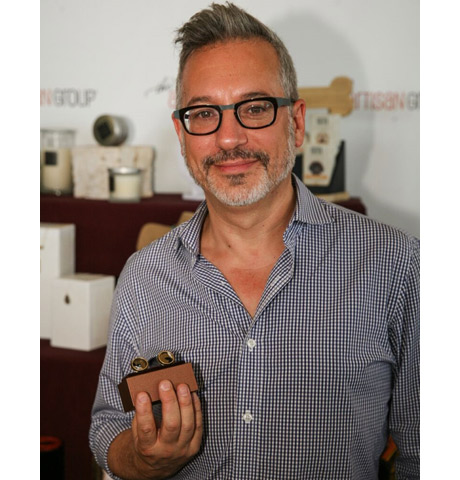 Jeremy Podeswa of Game of Thrones (Nominated: Director, Drama Series; WINNER: Outstanding Drama Series) with Chelsea Bond Jewelry