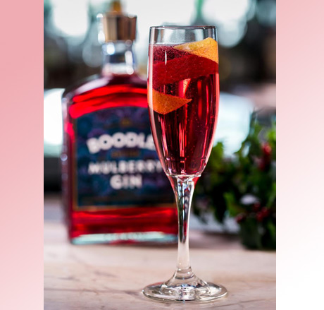 Boodles Royale with Boodles Mulberry Gin