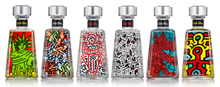 Keith Haring's Essential Artists 7 series limited-edition bottles