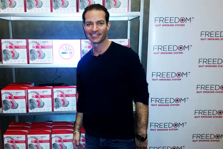 Founder/inventor Craig Nabat of FREEDOM Quit Smoking Syster