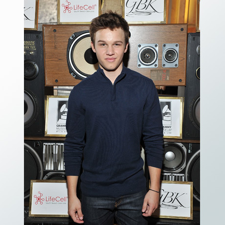 Model and Actor Gavin MacIntosh , The Fosters