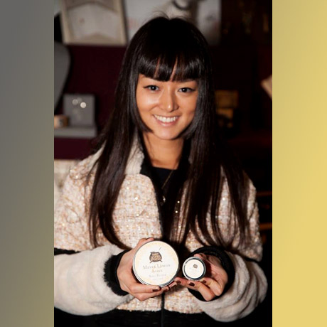 "Kiki Sukezane of NBC's ""Heroes Reborn"" (Miko Otomo) with Soap Cauldron."