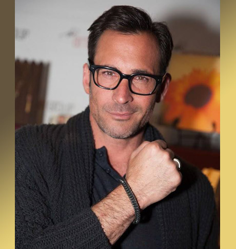Lawrence Zarian, Host of LIVE on the Red Carpet for Inside Edition - Golden Globes; Fashion Expert with Metal&Maille.