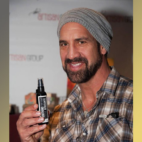 "Matthew Willig of ""Concussion"" (Justin Strzelczyk); ""Agents of S.H.I.E.L.D."" (Lash) with Fiore Botanica."