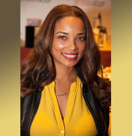 "Rochelle Aytes of ABC's ""Mistresses"" (April Malloy) with Hope Anchored Designs"