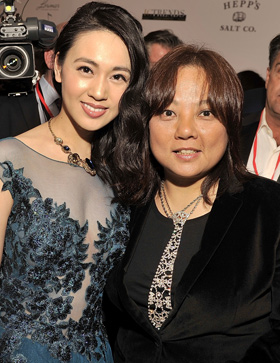 Actress Candy Wang and Producer/Director Alice Wang