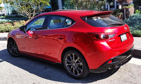 the 2016 mazda mazda3 s grand touring 5 door a car review la 39 s the place los angeles magazine. Black Bedroom Furniture Sets. Home Design Ideas