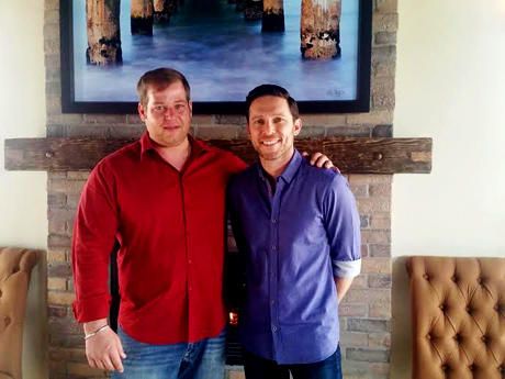 Manhattan House partners/owners Brett Schwartz and Jeff Kirshenbaum.