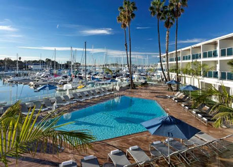 Fourth of July, Marina del Rey Hotel