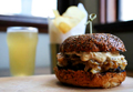 Manhattan House fois gras  hamburger