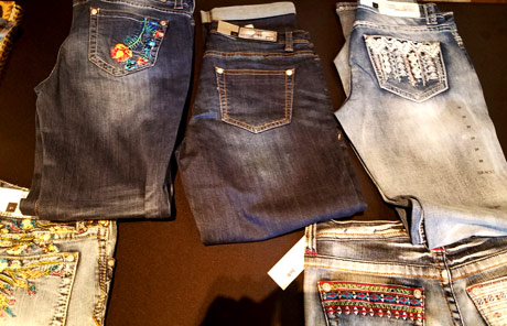 Grace in LA Denim for women, girls and now, men.
