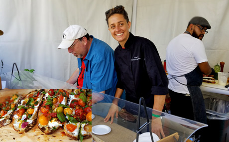 Manhattan House Chef Diana Stavaridis at The Taste.