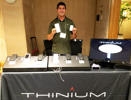 Thinium Technologies, the world's thinnest wall charger