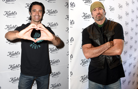 Gilles Marini and Scott Patterson