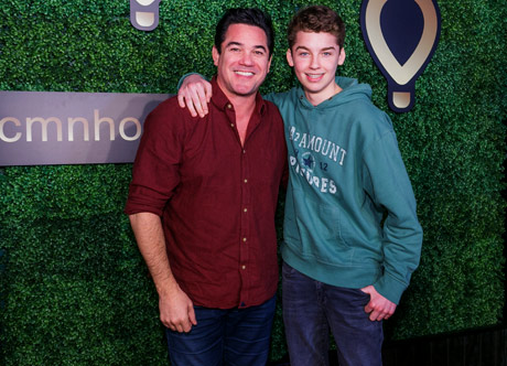 Dean Cain and his son Christopher - Photo: Albert Evangelista