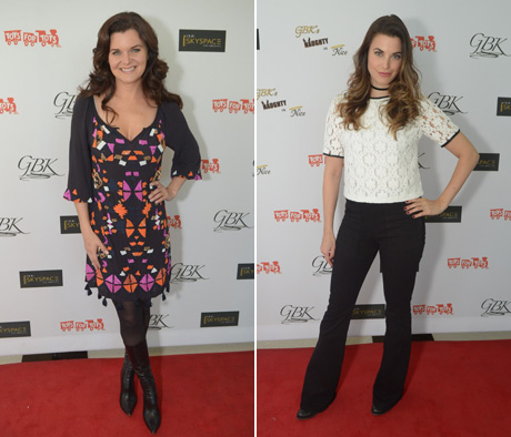 Heather Tom and Meghan Ory