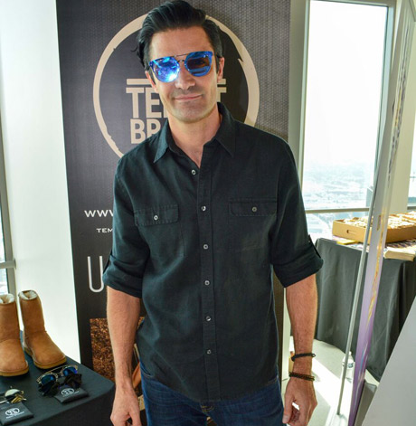 Gilles Marini with Tempt Sunglasses