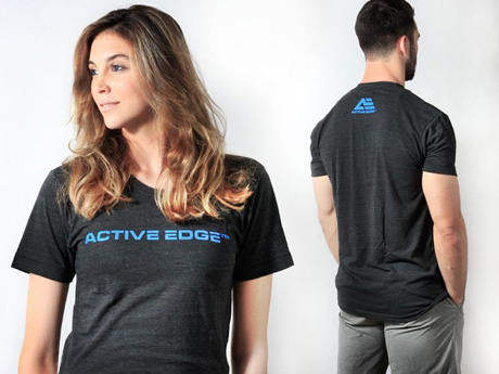Active Edge magnetic t-shirts