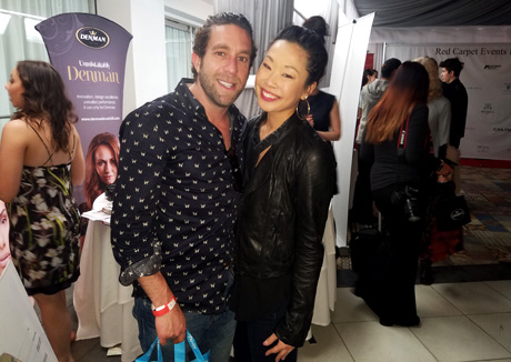 Elliott Yamin attends Red Carpet Events LA Red Carpet Pre GRAMMY Swag lounge