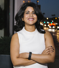 Hook App co-founder Neenu Jacob.