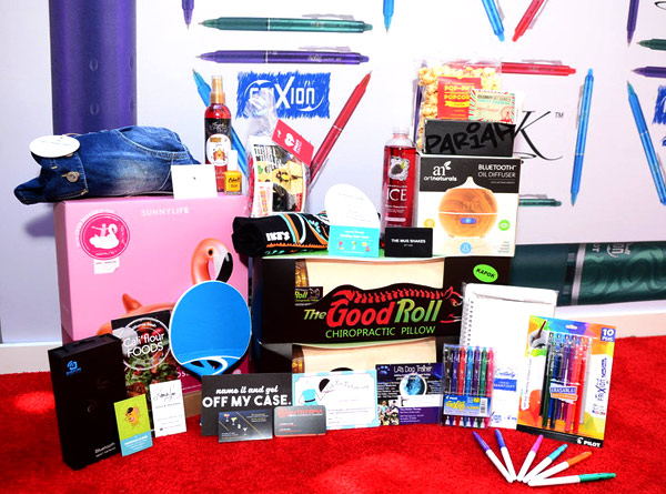 The GBK gift bag for the 2017 Teen Choice Awards