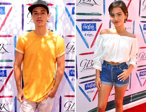 Leroy Sanchez (Nominated for Choice Music Web Star), Isabela Moner (Transformers)