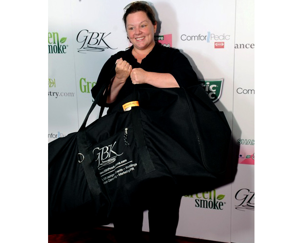 Melissa McCarthy at a GBK Emmy event