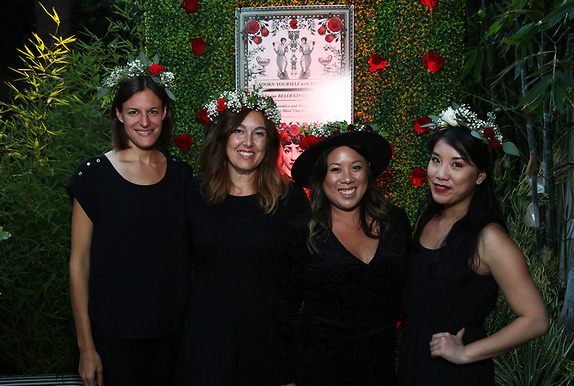 The Crown Collective provided Rose Crowns for all guests!