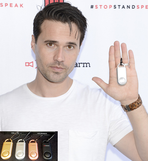 Brett Dalton of S.H.I.E.L.D. takes the Pledge.