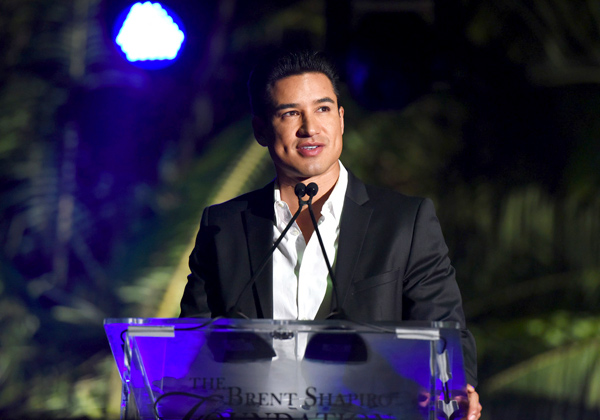 Mario Lopez hosted the Brent Shapiro Foundation's Summer Spectacular