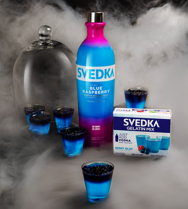 Halloween Spirits with SVEDKA Vodka Cocktails and Jelly Shots