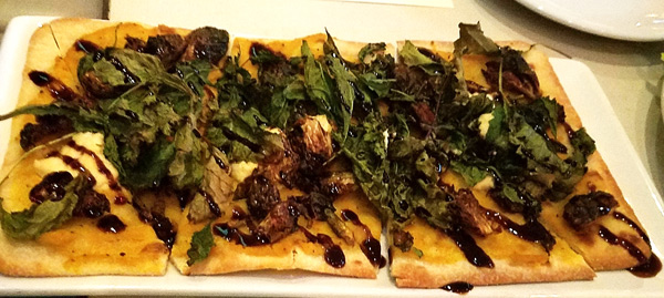 Surfside's Vegan Flatbread