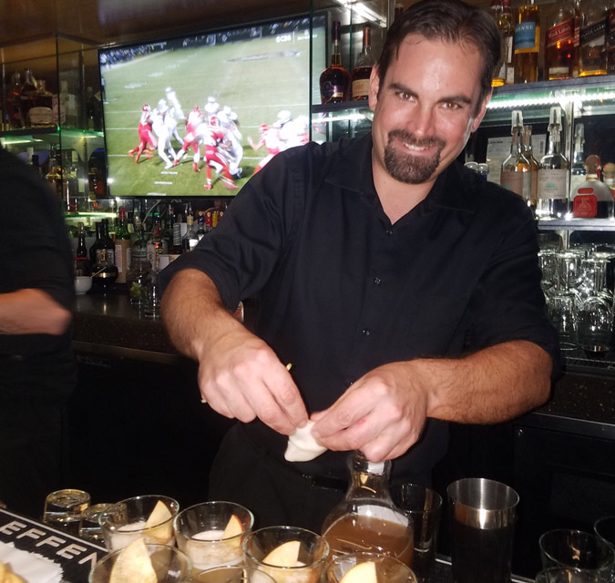 Mixologist Kevin Hooker from The Strand House