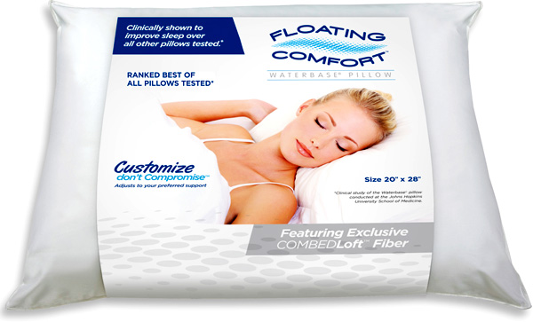Sleep With The Water Pillow by Mediflow