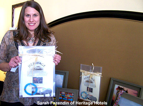 Sarah Fazendin, Heritage Hotels