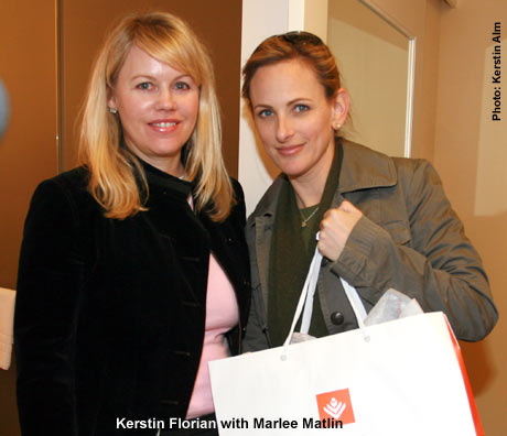 Kerstin Florian, Marlee Matlin