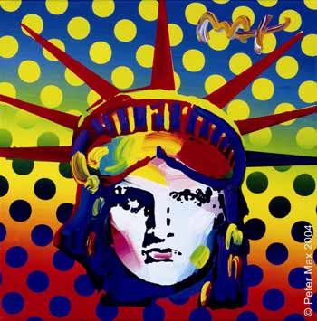 peter max liberty head