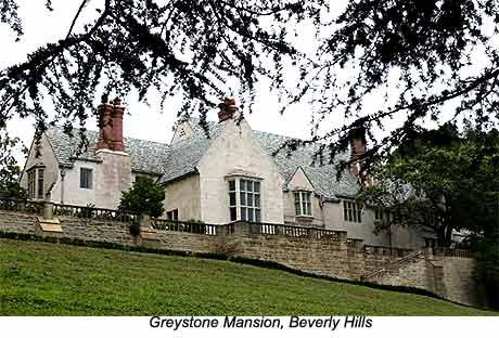 Greystone mansion  beverly