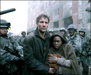 Children of Men Clive Owen and Claire-Hope Ashitey