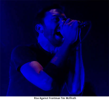 Frontman Tim McIlrath