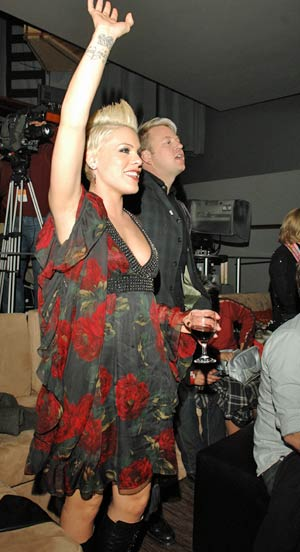Pretty Boys Video, Directed by P!NK, Premiers at Fox Studios