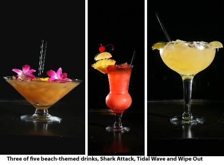 beach themed cocktails